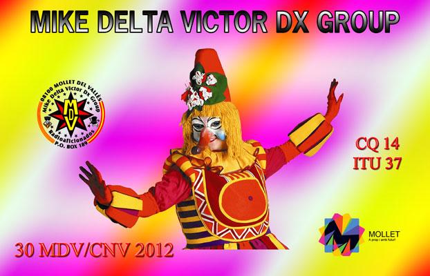 QSL 30MDV/CNV 2012