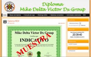 Página Diplomas MDV