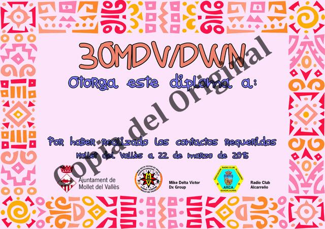 Diploma 30MDV/DWN