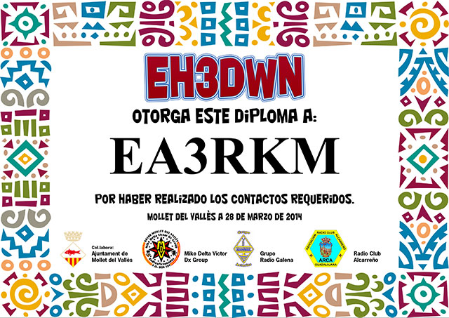 Diploma EH3DWN