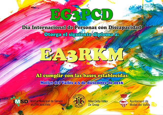 Diploma EG3PCD