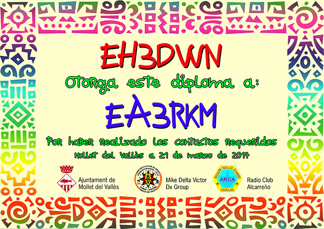 Diploma EH3DWN 2017