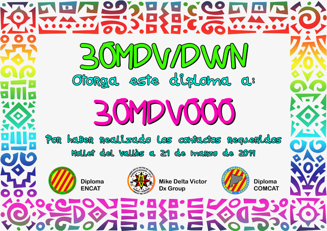 Diploma 30MDV/DWN 2019