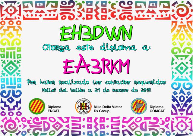 Diploma EH3DWN 2019