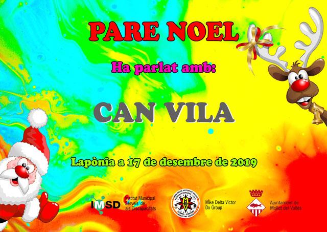 Papa Noel en Can Vila